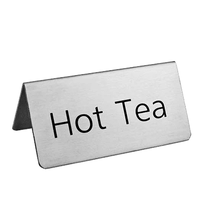 Omcan USA 80137 (80137) Beverage Tent Sign