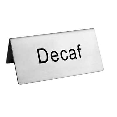 Omcan USA 80138 (80138) Beverage Tent Sign