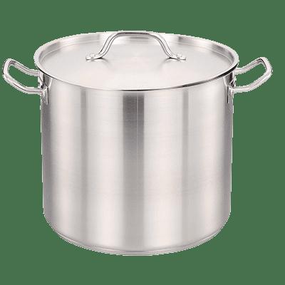 Omcan USA 80441 (80441) Stock Pot, 24 quart, w…