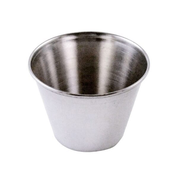Omcan USA 80822 2 1/2 oz Stainless Steel Sauce Cup