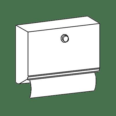 Perlick Corporation 7055-270 Paper towel dispenser, factory…