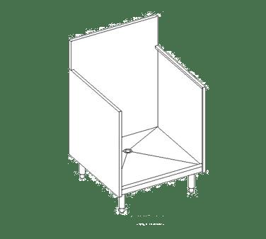 Perlick Corporation 7055A Underbar Glass Rack Storage Un…