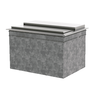 Perlick Corporation DI36IC10 Ice Chest, drop-in, 10-circuit…