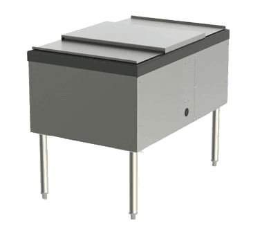 Perlick Corporation SS24IC10 Service Station Ice Chest, wit…