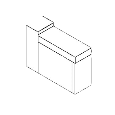 Perlick Corporation TS6CO TS Series Filler Section, 6″, …