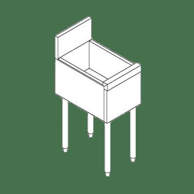 Perlick Corporation TS6U2 TS Series Underbar Bottle Stor…