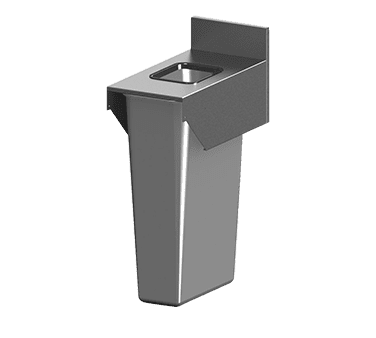 Perlick Corporation TSF12BTB TSF Series Trash Receptacle To…