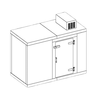 Perlick Corporation US10KP Utility Cooler, 10 keg, self-c…