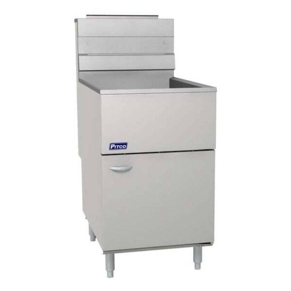 Pitco 65C+S 65-80 lb. Floor Fryer SS 150K BTU