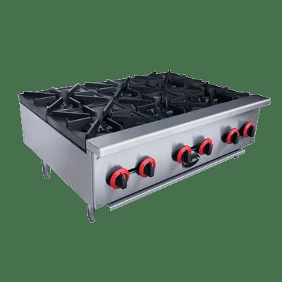 SABA  HP-6 6 Gas Hotplate Cooker 150,000 BTU