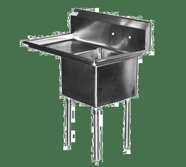 Serv-Ware 1CWPH1824L-24 Heavy Duty Series Sink