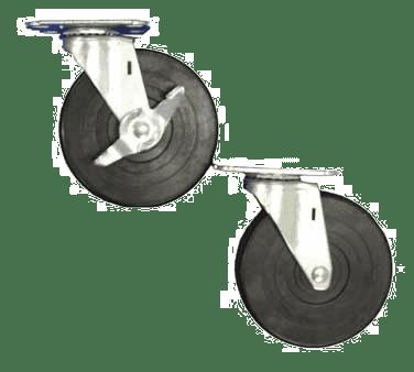 Serv-Ware 5C-0017 Plate Caster, 5″ wheel, 2-1/2″…