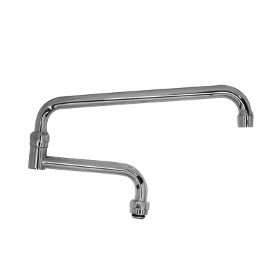 Serv-Ware AF-18DJ-CWP Double-Jointed Faucet