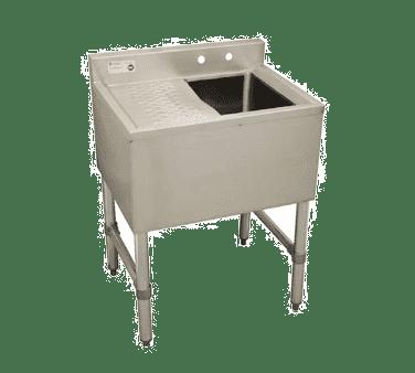 Serv-Ware BAR1B24-R-CWP One (1) compartment Underbar Sink