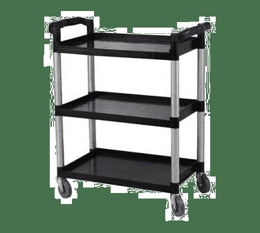 Serv-Ware BC-100B-CWP Bus Cart, 3-shelf