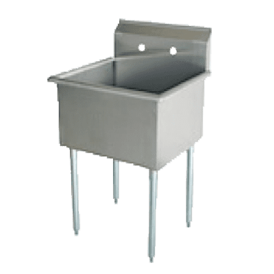 Serv-Ware BS1-3621 One (1) Compartment Budget Series Sink