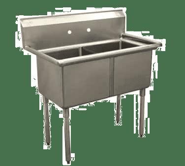 Serv-Ware D2CWP1818 Economy Series Sink