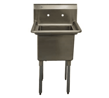 Serv-Ware E1CWP1818 One (1) Compartment Economy Series Sink