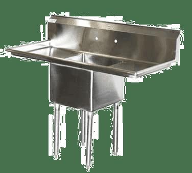 Serv-Ware E1CWP18182-18 One (1) Compartment Economy Series Sink