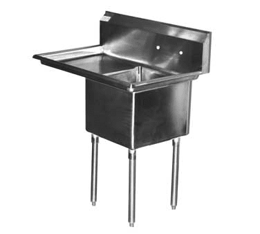 Serv-Ware E1CWP1818L-24 Economy Series Sink