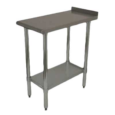 """Work Table, 12"""" - 21"""", Stainless Steel Top"""