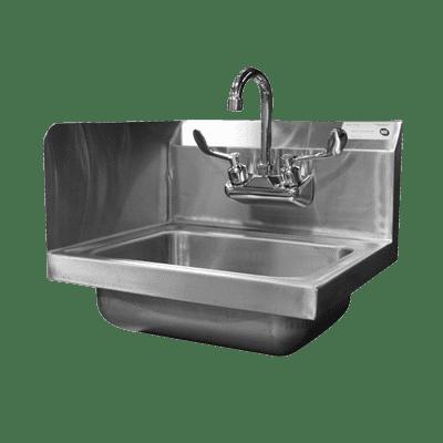 Serv-Ware HS10-CWP-SSL Hand Sink, wall mount