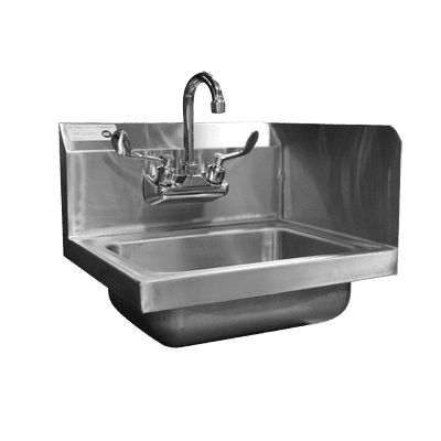 Serv-Ware HS10-CWP-SSR Hand Sink, wall mount