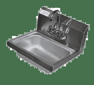 Serv-Ware HS15-CWP Hand Sink, wall mount