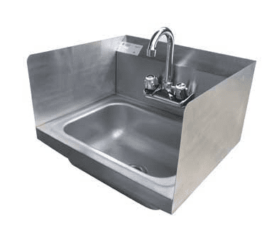 Serv-Ware HS15S-CWP Hand Sink, wall mount
