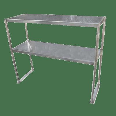 Serv-Ware OS-6E-CWP Overshelf, table mount
