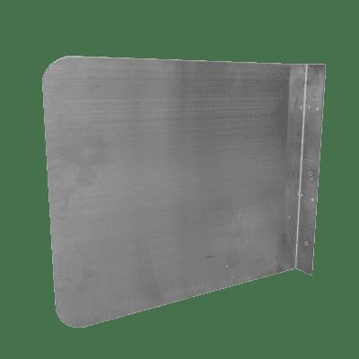 Serv-Ware SSP-2428 Side Splash, wall-mounted