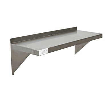 Wall Shelf, 12″*24″*10″, 18 Gage, SS 304