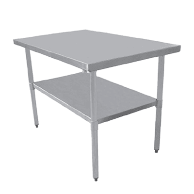 Serv-Ware T1830CWP-4 Economy Series Work Table