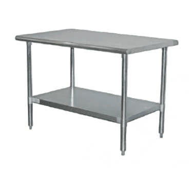 Serv-Ware T2496CWP-3 Standard Series Work Table
