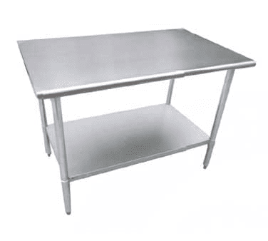 Serv-Ware T3072CWP-16S Deluxe Series Work Table