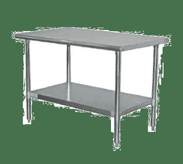 Serv-Ware T3072CWP-3 Standard Series Work Table