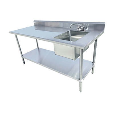 Serv-Ware TSF-3060-R Table Sink
