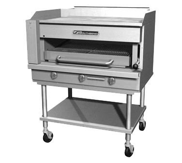 Griddle on Overfire Broiler, Gas, Countertop