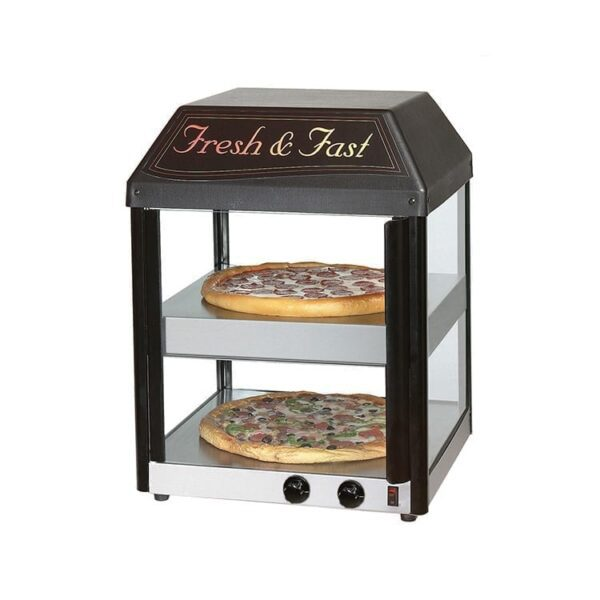 Star 18MCP 18 1/2″ Heated Pizza Merchandiser
