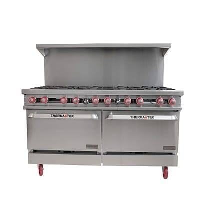 Therma-Tek TMD60-10-2 Restaurant Range, gas, 60″, (1…
