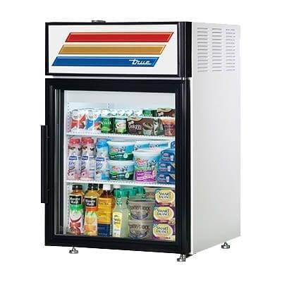 True Manufacturing Co., Inc. GDM-05-HC~TSL01 White Countertop Display Refrigerator