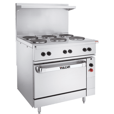 "Range, 36"" Restaurant, Electric"