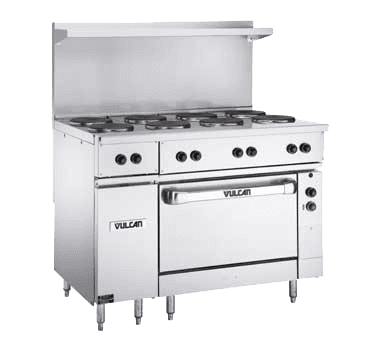 "Range, 48"" Restaurant, Electric"