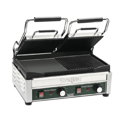 Waring WDG300 Dual Surface Panini Grill, ele…