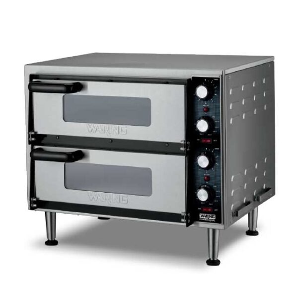 Waring WPO350 Double-Deck Pizza Oven, electr…