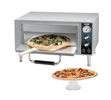 Waring WPO500 Single Deck Pizza Oven, electr…