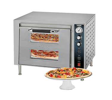 Waring WPO700 Double-Deck Pizza Oven, electr…