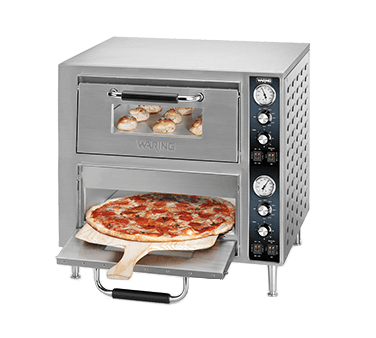 Waring WPO750 Double-Deck Pizza Oven, electr…