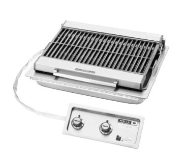 Charbroiler, Electric, Built-In