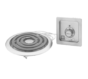 Hotplate, Built-In, Electric